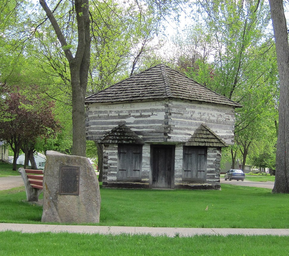 Peterson iowa blockhouse