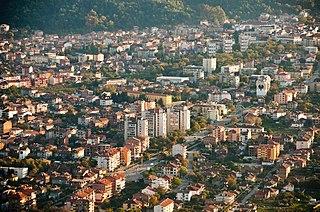 Petrich Place in Blagoevgrad, Bulgaria