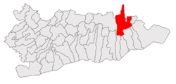 Location of Perișoru, Călărași