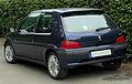 Peugeot 106 Sport Facelift rear 20100914.jpg