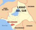 Ph locator lanao del sur balabagan.png