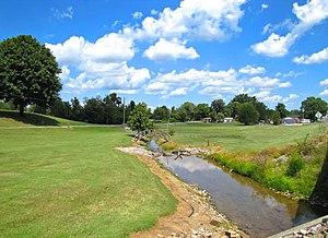 Loudon County, Tennessee - Creek in Philadelphia