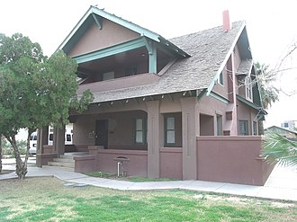 James H. McClintock - Colonel James McClintock's house was built in 1911 and is located at 323 E. Willetta St. in Phoenix Az.