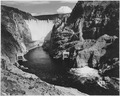 Photograph of the Boulder Dam from Across the Colorado River, 1941 - NARA - 519837.tif