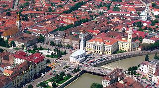Oradea City in Bihor County, Romania