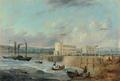 Pierhead Cardiff (Alexander Wilson) 1840.png