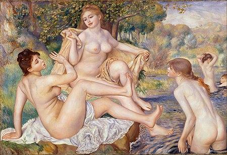 Pierre-Auguste Renoir, franca - La Grandaj Naĝantoj - Google Art Project.jpg