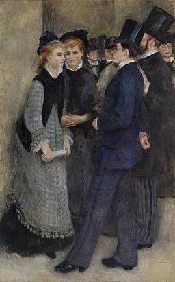 Pierre-Auguste Renoir - Leaving the Conservatory (La Sortie du conservatoire) - BF862 - Barnes Foundation