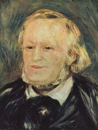 Portrait de Richard Wagner par Pierre-Auguste Renoir