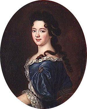 Anne Henriette of Bavaria - Image: Pierre Mignard portrait painting of Marie Thérèse de Bourbon (1666 1732), Princess of Conti