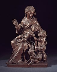 Madone avec l'Enfant Jésus et le petit Jean-Baptiste