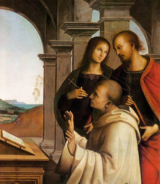 File:Pietro Perugino - The Vision of St Bernard (detail) - WGA17319.jpg