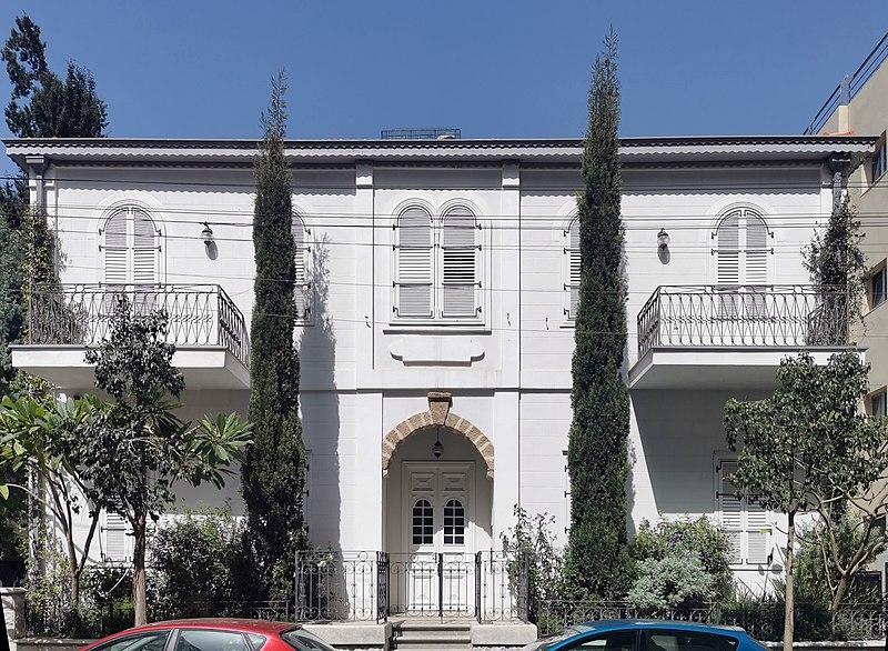 הבית ברחוב יהודה הלוי 15 בתל אביב
