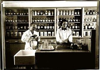 Healthcare in Israel - Pharmacy in Petah Tikva, 1930s