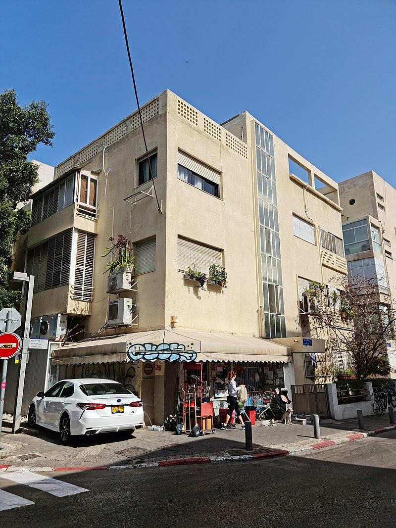 תל אביב בית אפרוני רחוב אחד העם 95, פינת בורו