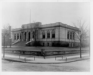 Southeast Library - The Pillsbury Library replaced the East Side Branch (1891-1904) as part of the Minneapolis Public Library system from 1904-1967.
