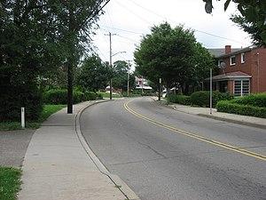 Brookline (Pittsburgh) - Along Pioneer Avenue in Brookline