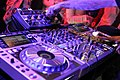 Pioneer DJ equipment - angled left - Expomusic 2014.jpg
