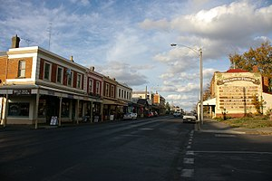 Kyneton - Looking along Piper Street, Kyneton