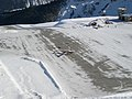 Piper PA-46 taxiing at Courchevel Altiport.jpg