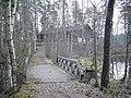 Pirtti, party venue, log cabin, smoke, партия место, бревенчатый дом, дым - panoramio.jpg