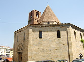 Santo Sepolcro (Pisa) - Exterior view.