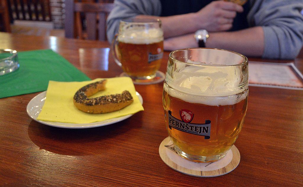 Bière tchèque à Prague - Photo de Pudelek.