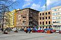 Plac Grzybowski wylot ulicy Próżnej 2012 02.JPG