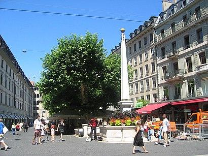 Comment aller à Place Du Molard en transport en commun - A propos de cet endroit