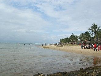 Mahavelona - Image: Plage Full Point