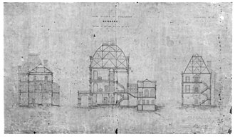 Parliament House, Brisbane - Plan of Parliament House, 1867