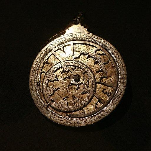 Planispherical astrolabe mg 7095