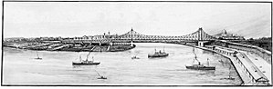 "Story Bridge - Plans for the ""Brisbane River Bridge"", circa 1934"