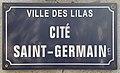 Plaque Cité Saint Germain - Les Lilas (FR93) - 2021-04-27 - 1.jpg