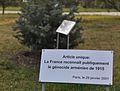 Plaque de la reconnaissance du génocide à Yerevan.JPG