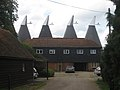Ploggs Hall Oast, Whetsted Road, near Five Oak Green, Kent - geograph.org.uk - 335505.jpg