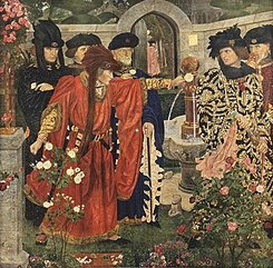 Plucking the Red and White Roses, by Henry Payne.jpg