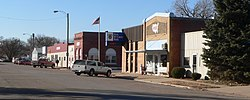 Plymouth, Nebraska Main from Jefferson N side 1.JPG