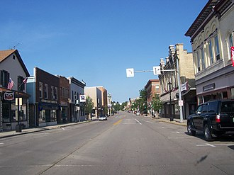 Plymouth, Wisconsin - Downtown Plymouth