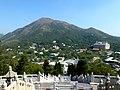 Po Lin Monastery from Tian Tan Buddha Lantau Island Hong Kong - panoramio.jpg