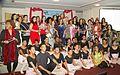 Poetas y artistas en el festival Internacional de Poesia Grito de Mujer 2013.jpg