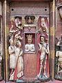 Polittico di Santa Caterina di artista inglese del sec. XV (attr.), dettaglio, (5).JPG