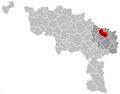 Pont-à-Celles Hainaut Belgium Map.png