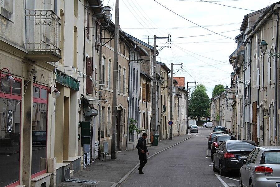 Pont-à-Mousson, rue des Fossés