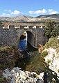 Pont al costat del despoblat de l'Atzuvieta, la Vall d'Alcalà.JPG