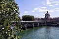 Pont des Arts and Institut de France, Paris June 2015 001.jpg