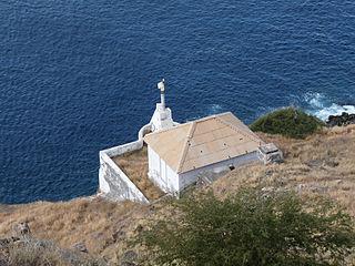 Farol da Ponta Preta lighthouse in Cape Verde
