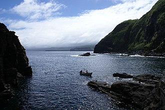 Ribeira Grande, Azores - A view of the Port of Santa Iria, once the primary, and distant, waypoint for northern commerce