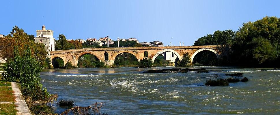 Ponte Milvio-side view-antmoose