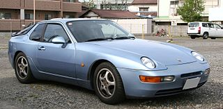 Entry-level sports car manufactured by German automobile manufacturer Porsche as a successor to the 944 from 1992–1995